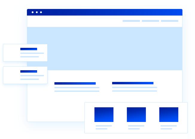 Webbsida till företag